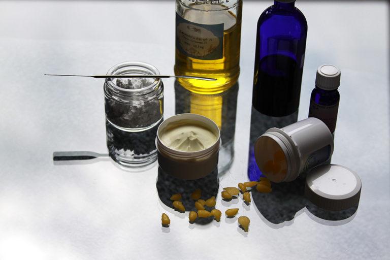Wundschutzcreme mit Kamille und Zink