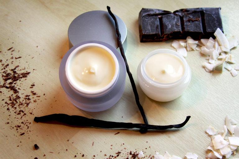 Reichhaltige (Hand- und Fuß-) Creme mit Kakaobutter und Kokos